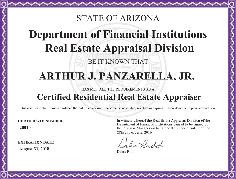 Qualifying Education: Certified General Appraiser ...